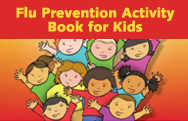Flu Prevention Activity Book for Kids